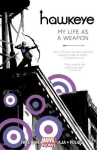 Cover of Hawkeye vol 1 by Matt Fraction
