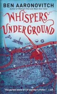Cover of Whispers Under Ground by Ben Aaronovitch