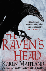 Cover of The Raven's Head by Karen Maitland