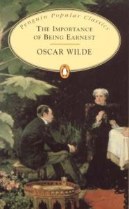 Cover of The Importance of Being Earnest by Oscar WIlde