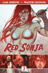 Cover of Red Sonja volume 2 by Gail Simone
