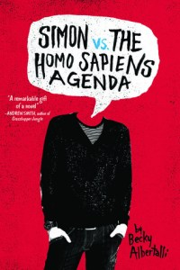 Cover of Simon vs the Homo Sapiens Agenda by Becky Albertalli