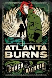Cover of Atlanta Burns by Chuck Wendig