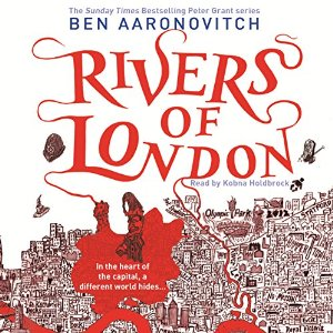 Cover of Rivers of London audiobook