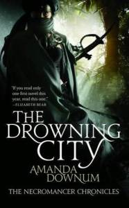 Cover of The Drowning City by Amanda Downum