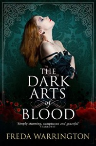 Cover of The Dark Arts of Blood by Freda Warrington