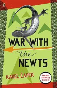 Cover of War with the Newts by Karel Capek