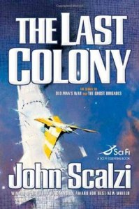 Cover of The Last Colony by John Scalzi