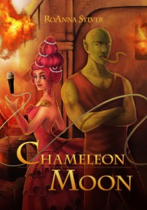 Cover of Chameleon Moon by RoAnna Sylver