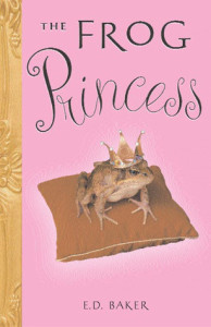 Cover of The Frog Princess by E.D. Baker