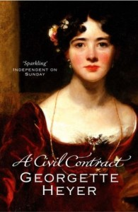Cover of A Civil Contract by Georgette Heyer