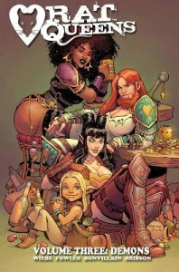 Cover of Rat Queens vol 3