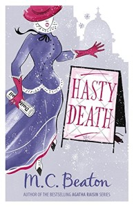 Cover of Hasty Death by M.C. Beaton