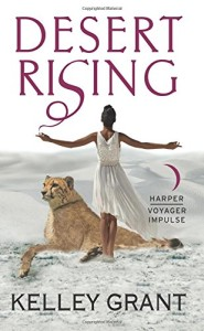 Cover of Desert Rising by Kelley Grant