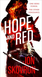 Cover of Hope and Red by Jon Skovrun