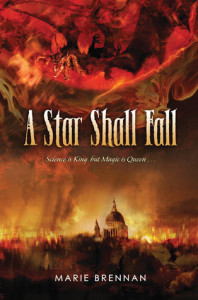Cover of A Star Shall Fall by Marie Brennan