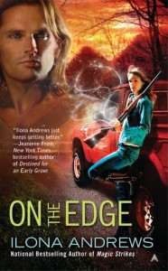 Cover of On the Edge by Ilona Andrews