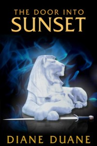 Cover of The Door into Sunset by Diane Duane