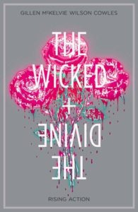 Cover of The Wicked + The Divine: Rising Action by Jamie McKelvie and Kieron Gillen