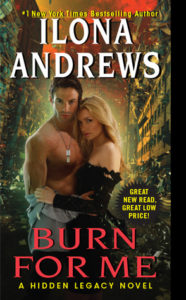 Cover of Burn for Me by Ilona Andrews
