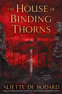 Cover of The House of Binding Thorns by Aliette de Bodard