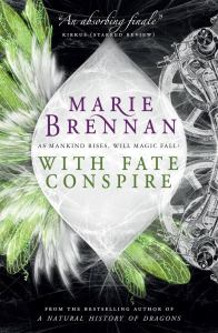 Cover of With Fate Conspire by Marie Brennan