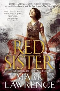 Cover of Red Sister by Mark Lawrence
