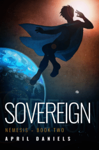 Cover of Sovereign by April Daniels
