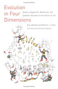 Cover of Evolution in Four Dimensions by Eva Jablonka