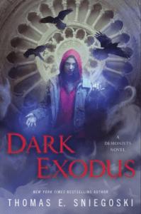 Cover of Dark Exodus by Thomas E. Sniegoski