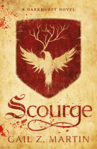 Cover of Scourge by Gail Z. Martin