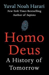 Cover of Homo Deus by Yuval Noah Harari