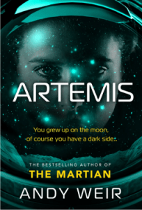 Cover of Artemis by Andy Weir