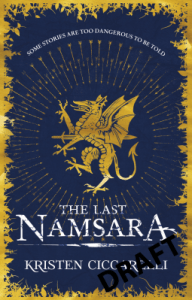 Cover of The Last Namsara by Kristen Ciccarelli