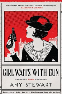 Cover of Girl Waits With Gun by Amy Stewart