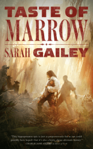 Cover of A Taste of Marrow by Sarah Gailey