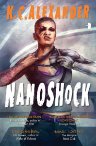 Cover of Nanoshock by K.C. Alexander