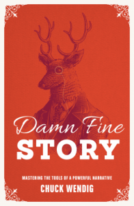 Cover of Damn Fine Story by Chuck Wendig