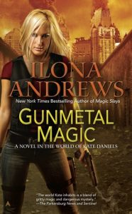 Cover of Gunmetal Magic by Ilona Andrews