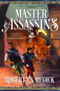 Cover by Master Assassins by Robert V. S, Redick