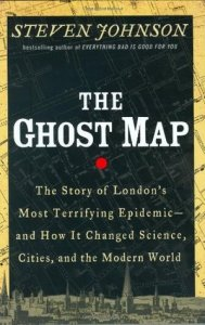 Cover of The Ghost Map by Steven Johnson