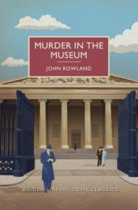 Cover of Murder in the Museum by John Rowland