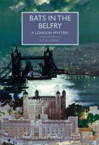 Cover of Bats in the Belfry by E.C.R.Lorac