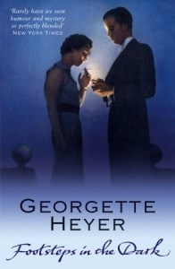 Cover of Footsteps in the Dark by Georgette Heyer