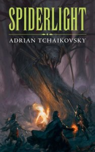 Cover of Spiderlight by Adrian Tchaikovsky