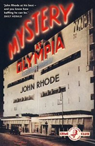 Cover of Mystery at Olympia by John Rhode