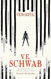 Cover of Vengeful by V.E. Schwab