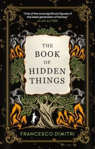 Cover of The Book of Hidden Things by Francesco Dimitri