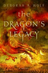 Cover of The Dragon's Legacy by Deborah A Wolf