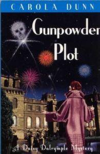 Cover of Gunpowder Plot by Carola Dunn.